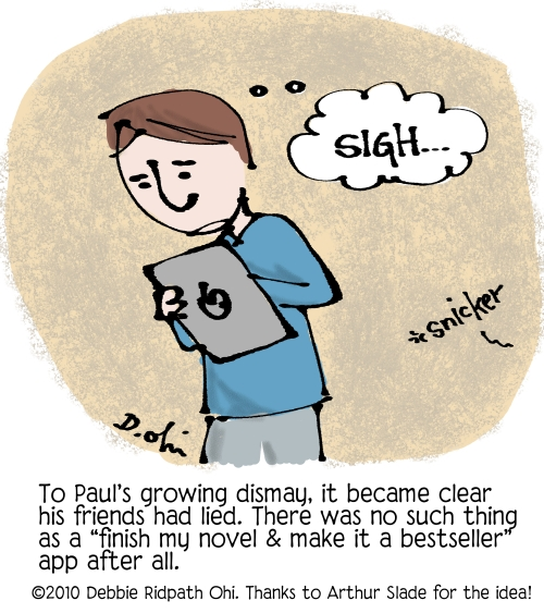 Comic: iPad Disappointment