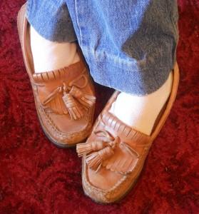 My 1950s slippers