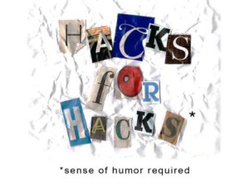 Hacks for Hacks