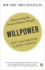 Willpower - white cover - by Baumeister and Tierney