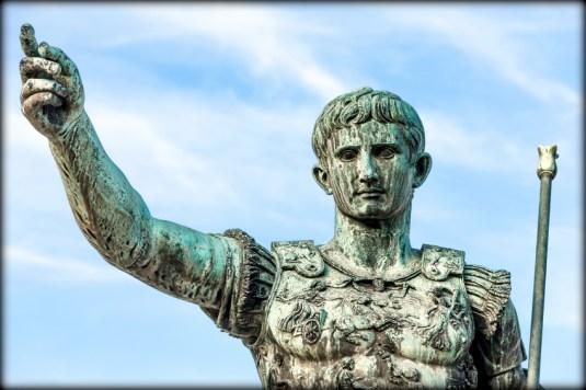Statue Of Augustus Caesar, Rome, Italy