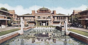 Frank Lloyd Wright's Imperial Hotel in Tokyo (Wikimedia Commons)