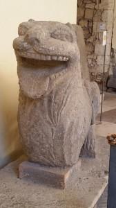 Lion statue, Tarquinia