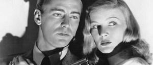 "Film Star Vintage  Alan Ladd and Veronica Lake  ""The Blue Dahlia"" (George Marshall, 1946)"