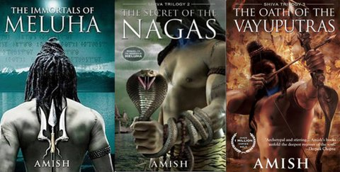 The Shiva Trilogy books by Amish Tripathi
