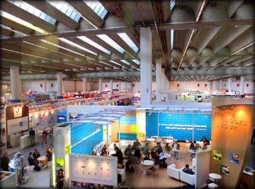 In Frankfurt Book Fair's International Halle. Image: Porter Anderson