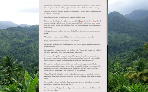Scrivener full screen composition mode