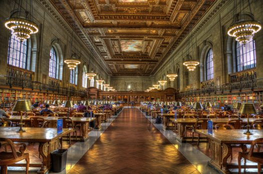 NYC Public Library photo by Andrew E. Larsen