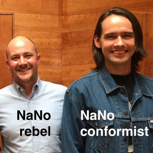 Will - NaNo rebel, Art - NaNo conformist