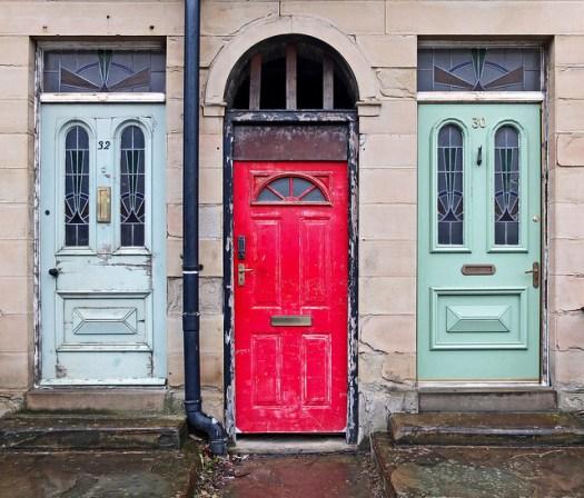 Behind Door Number Three