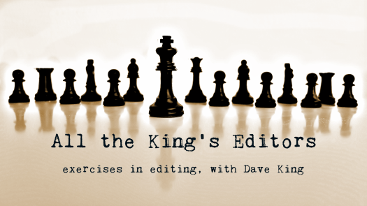 The Editor's Clinic:  Hooking your readers with Character