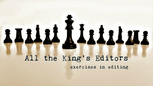 All the King's Editors–Sarah Callender