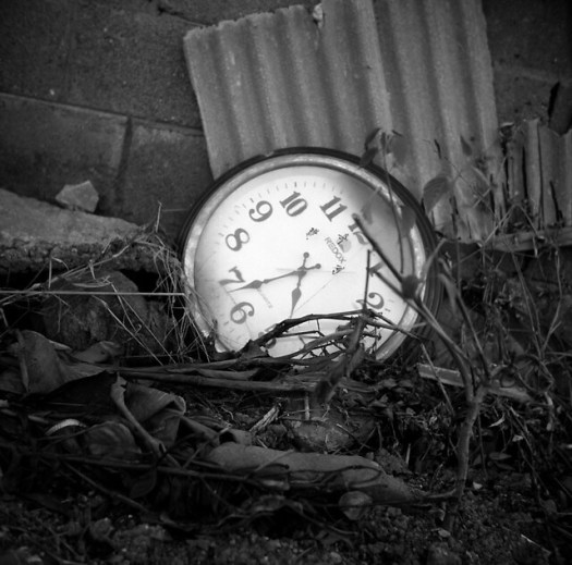 pocket watch on ground