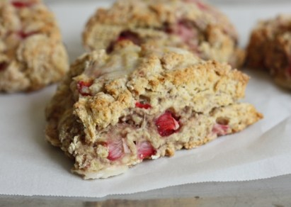 strawberry-lemon scone recipe | writes4food.com