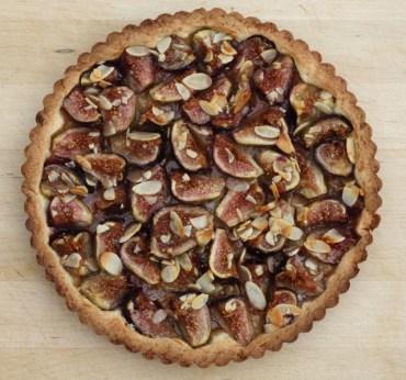 beautiful fig tart
