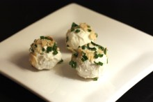 grape truffle appetizer recipe | writes4food.com
