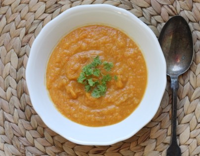 low-fat roasted winter vegetable soup recipe   writes4food.com