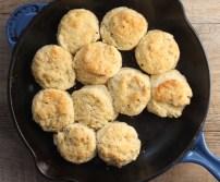 black pepper skillet biscuits   writes4food.com