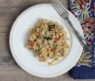 barley vegetable pilaf