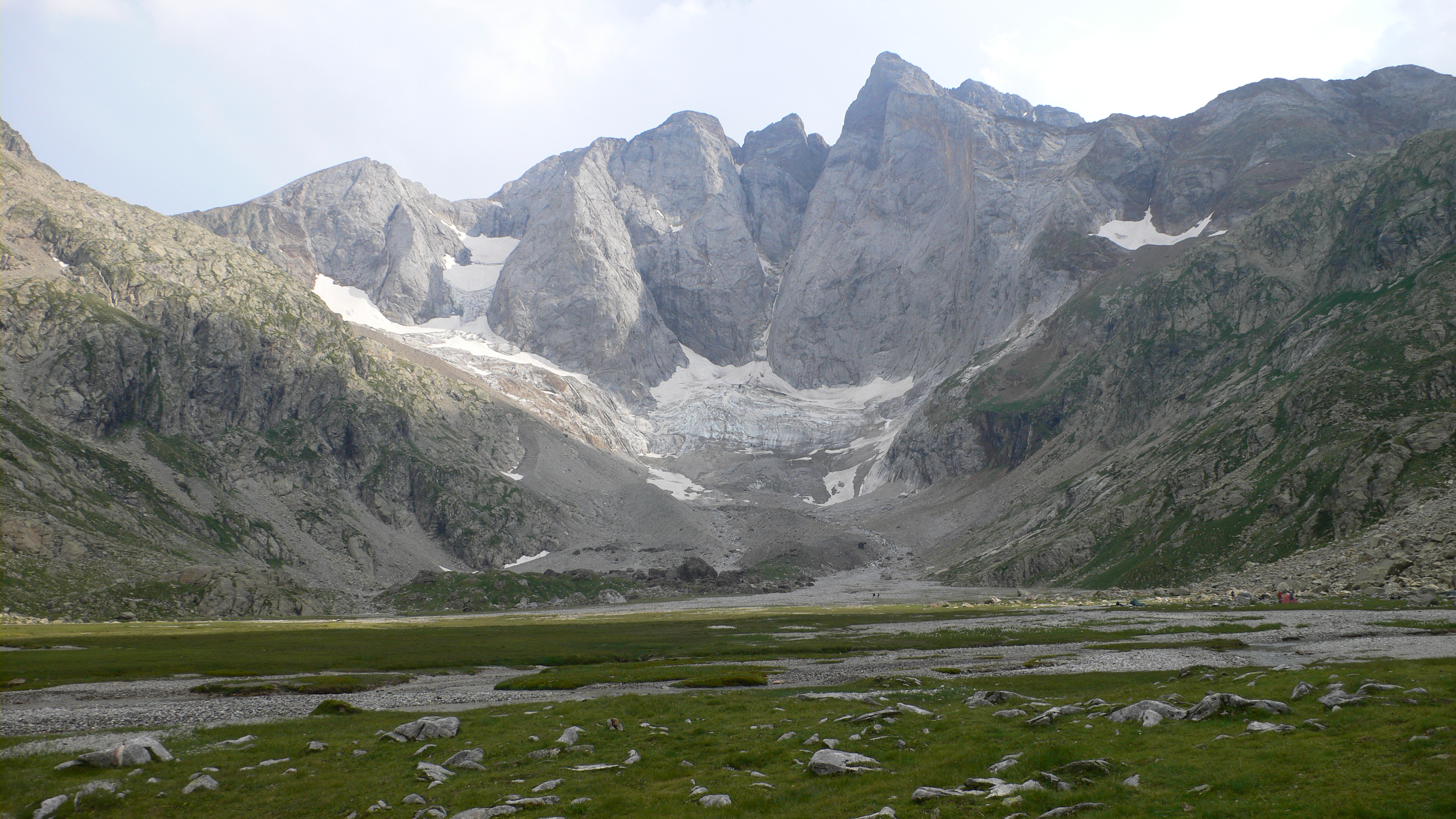 The north face of Vignemale