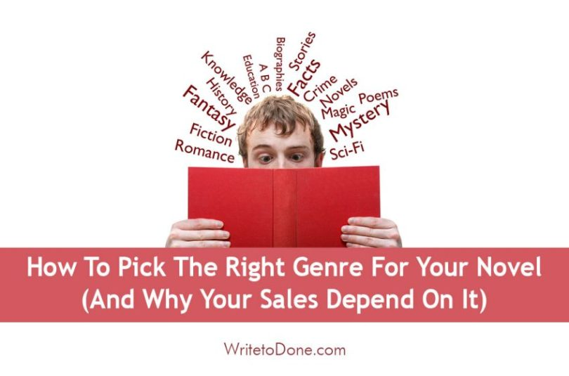 How To Pick The Right Genre For Your Novel  And Why Your Sales     Do