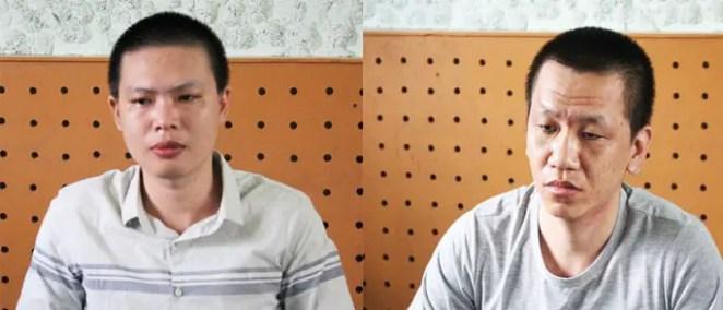 Hai thanh niên làm tiền để qua Campuchia chơi đá gà