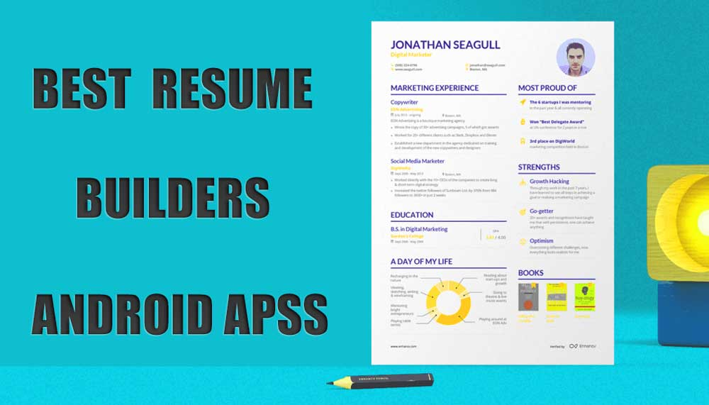 Best Resume Builder Apps For Android In 2020 Writeupcafe Com