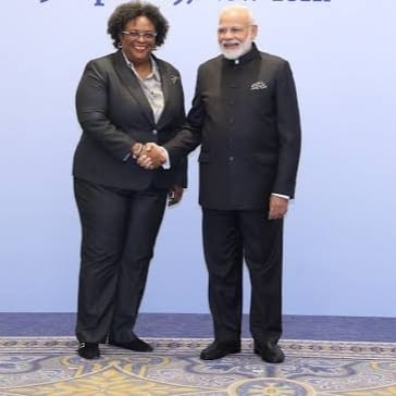 PM Mia Mottley writes to Indian PM Modi, shares solidarity