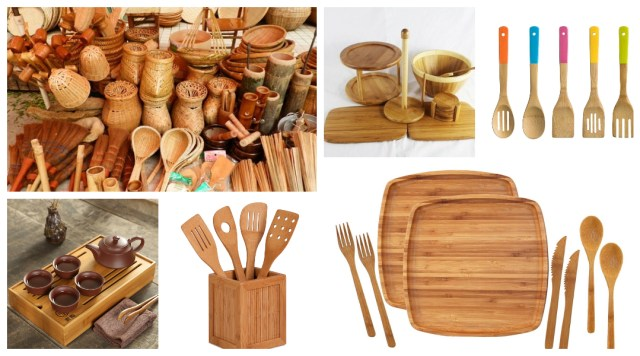 Bamboo Kitchen Accessories