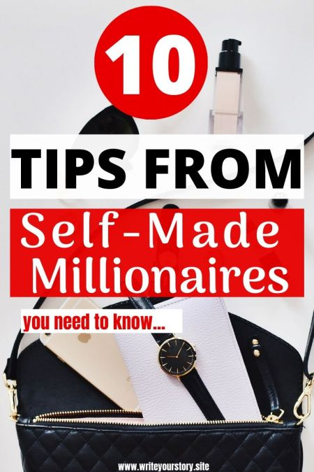 millionaire tips / grow your wealth / personal finance goals