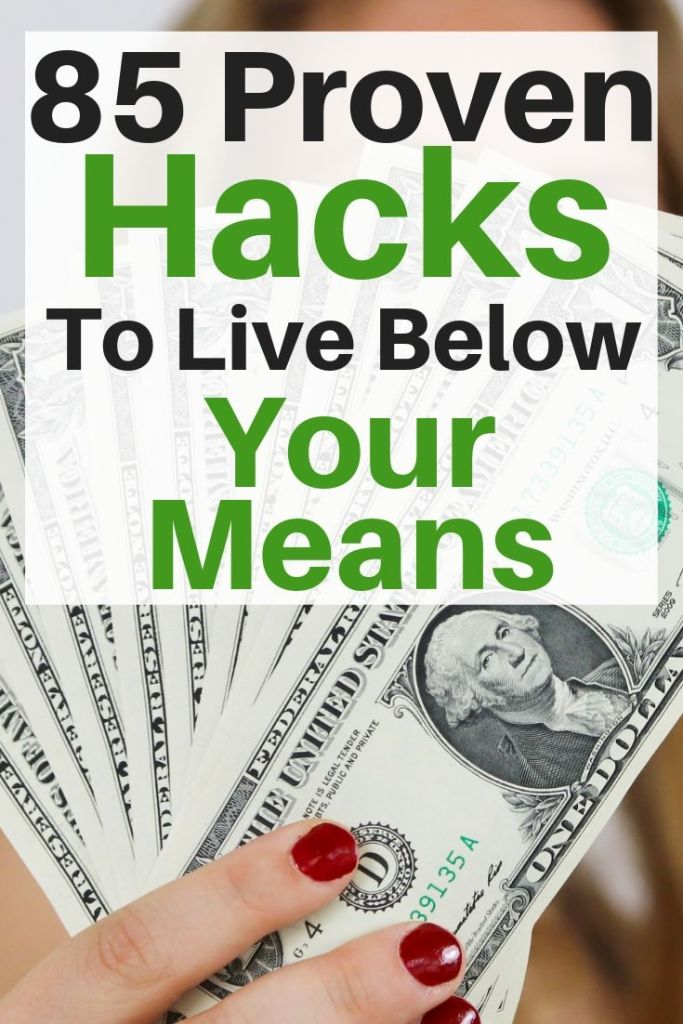 Check out our 85+ GENIUS frugal tips and money saving tricks you need to save money every month and spend less money effortlessly. #frugal #savemoney #budget
