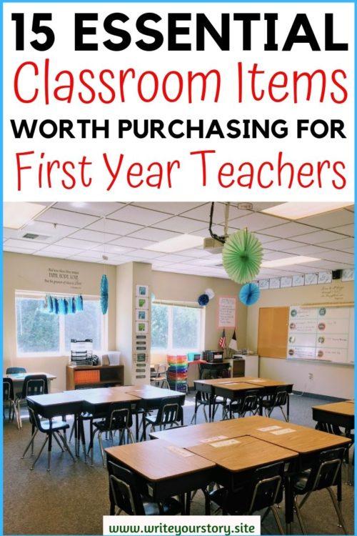 first year teacher must have / first year teacher checklist