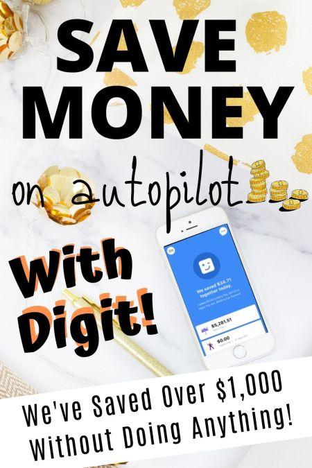 save money automatically digit savings app