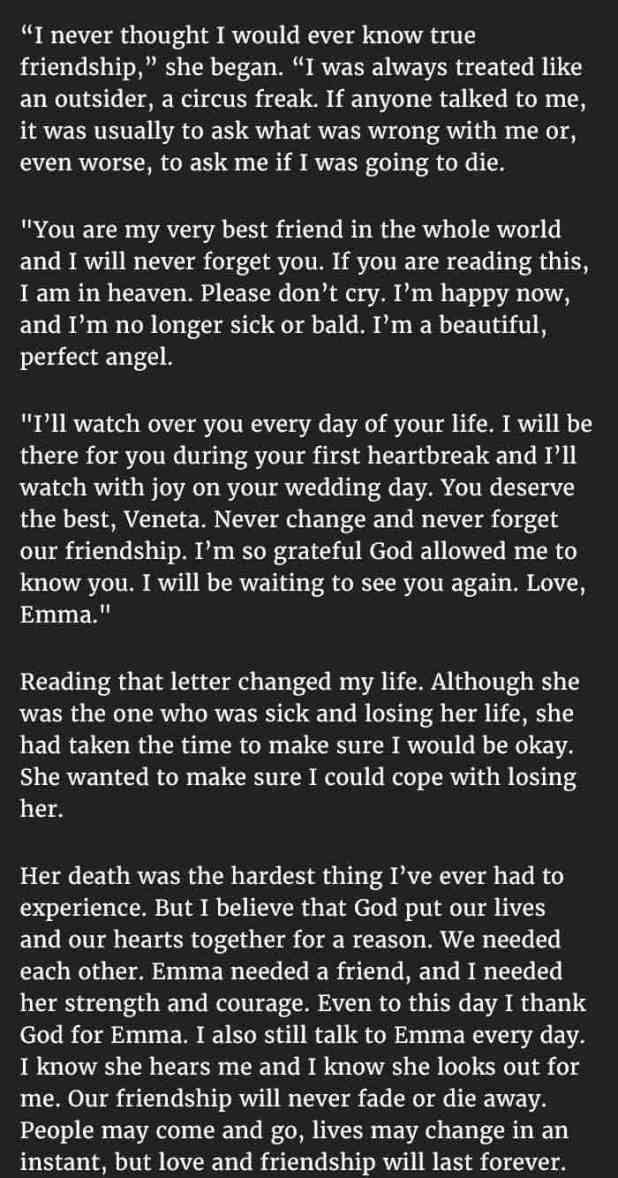 Letter to best friend to make her cry howtoviews how to write a letter make someone cry gallery format expocarfo Images