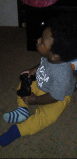 The newest gamer in the squad!