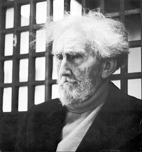 Ezra Pound in 1971, in Italy