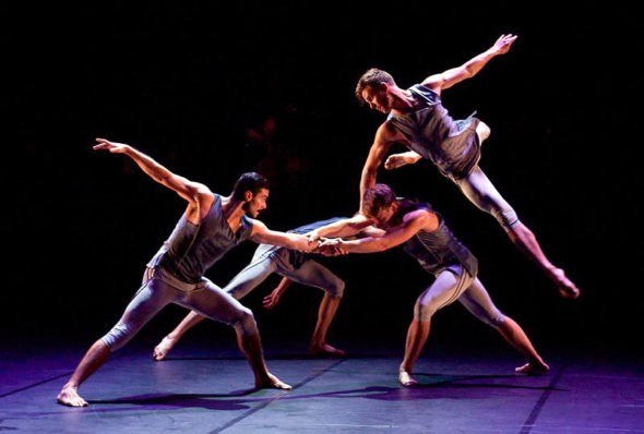 BalletBoyz The Talent in Christopher Wheeldon's Mesmerics (photo: Elliott Franks)