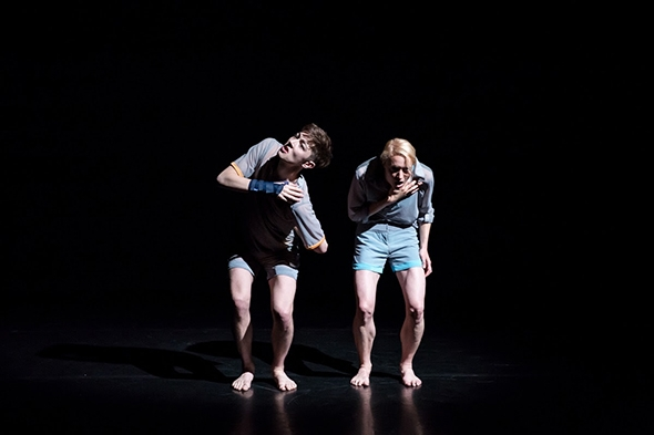 James Morgan and Laureline Richard in Two to Tune (photo: Richard Davenport)