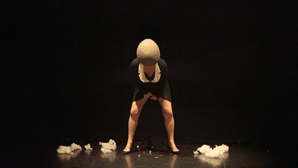 Liz Aggiss in Slap & Tickle (photo: Holly Revell)