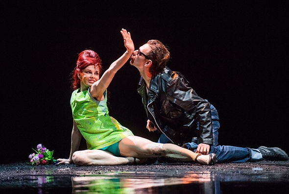 Natalia Osipova and Sergei Polunin in Arthur Pita's Run Mary Run (photo: Tristram Kenton)