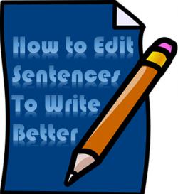 How to edit sentences