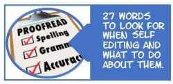 27 words to self editing