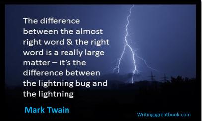 words mark twain