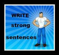Write strong sentences