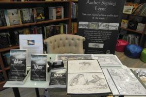 White Mountain book display