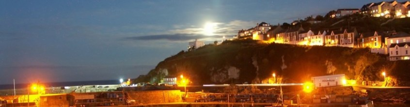Mevagissey Port at Night