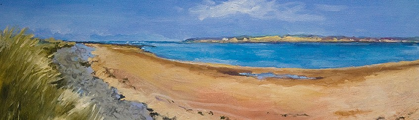 Cornwall beach painting