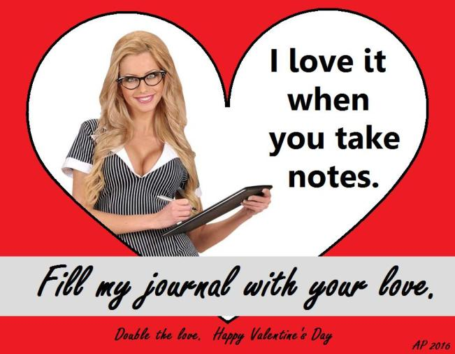 Valentines2016_sexyblondeteacher-onepiecepinstripedress-clipboard-glasses_heart-ap-1