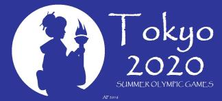 tokyo2020summerolympics_fire-producing-torch-geisha-banner_moon-cut-silhouette-ap-3j