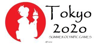 tokyo2020summerolympics_fire-producing-torch-geisha-banner_sun-cut-silhouette-ap-2j